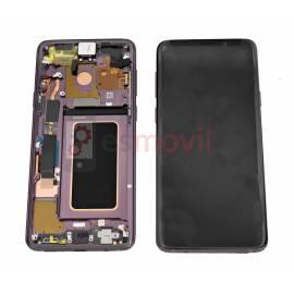 Samsung Galaxy S9 Plus G965f Lcd + tactil + marco purpura GH97-21691B