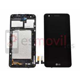 LG K4 2017 M160 Lcd + tactil + marco negro