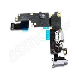 Apple iPhone 6 Plus Flex de carga + conector jack blanco