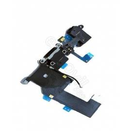 Apple iPhone 5 Flex carga +  conector jack negro