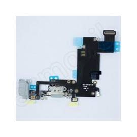 Apple iPhone 6S Plus Flex conector de carga + componentes gris oscuro