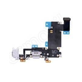 Apple iPhone 6S Plus Flex conector de carga + componentes gris claro