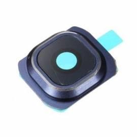 Samsung Galaxy S6 G920f Embellecedor + lente de camara azul