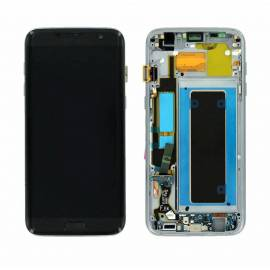 Samsung Galaxy S7 Edge G935f Lcd + tactil + marco negro GH97-18533A Service Pack
