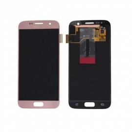 Samsung Galaxy S7 G930f Lcd + tactil rosa GH97-18523E Service Pack