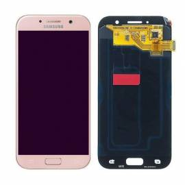 Samsung Galaxy A5 2017 A520f Lcd + tactil rosa GH97-19733D Service Pack