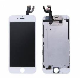 iPhone 6 Lcd + tactil + componentes blanco compatible