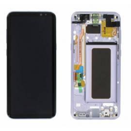 Samsung Galaxy S8 Plus G955f Lcd + tactil + marco violeta GH97-20470C Service Pack