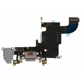 Apple iPhone 6S Flex de carga + conector jack + microfono gris oscuro