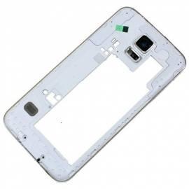 samsung-galaxy-s5-g900f-marco-intermedio-blanco-rejilla-blanca-altavoz-auricular