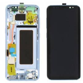 Samsung Galaxy S8 G950f Lcd + tactil + marco azul GH97-20457D