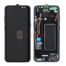 Samsung Galaxy S8 Plus G955f Lcd + tactil + marco negro GH97-20470A Service Pack