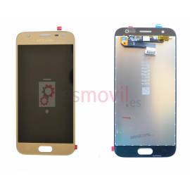 Samsung Galaxy J3 2017 J330f Lcd + tactil oro GH96-10990A Service Pack