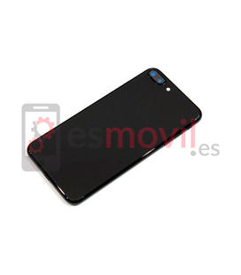 Apple iPhone 7 Plus Carcasa trasera Jet Black negro brillante