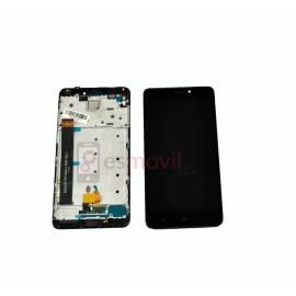 Xiaomi Redmi Note 4 Lcd + tactil + marco negro ( MediaTek )