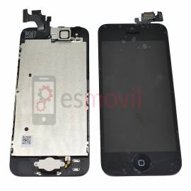 iPhone 5 Lcd + tactil + componentes negro compatible