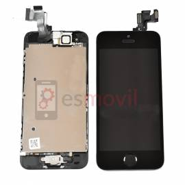 Apple iPhone 5S Lcd + tactil + componentes negro