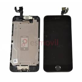 iPhone 6 Lcd + tactil + componentes negro compatible