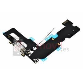 Apple iPhone 7 Plus Flex de carga + conector jack blanco